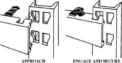 Diagram of bed rail